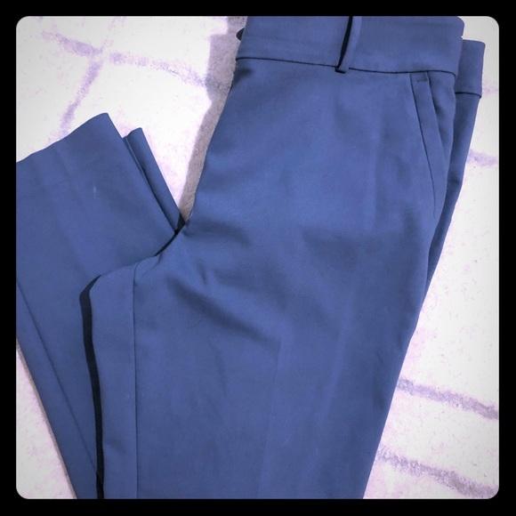 LOFT Pants - Loft straight leg ankle pants